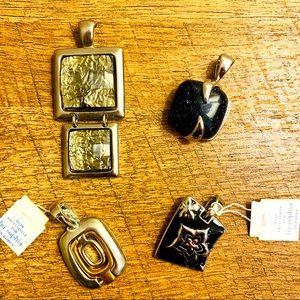 Set of 4 Lia Sophia Pendants